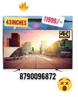 """GREAT OFFER FOR TODAY ON BRAND NEW 43"""" 4K QLED TV WITH 2 YEAR WARRANTY"""