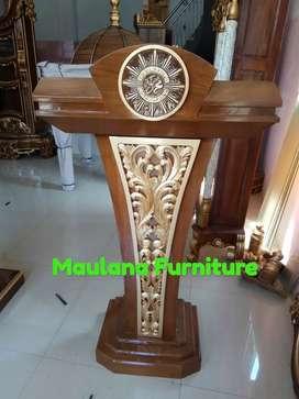 Mimbar masjid ready stok/mimbar bergradasi
