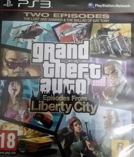 Grand theft auto liberty city for play station 3