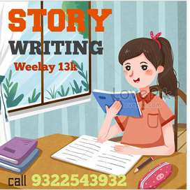 Medical content movie script serial story writing weekly 13000 salary