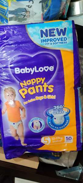 Baby love Sealed baby diapers for sale