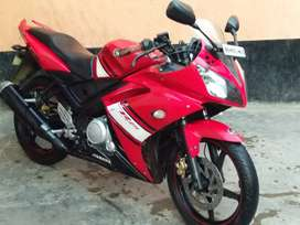 R15 1st vrsn red color good condition.Rs-40,000