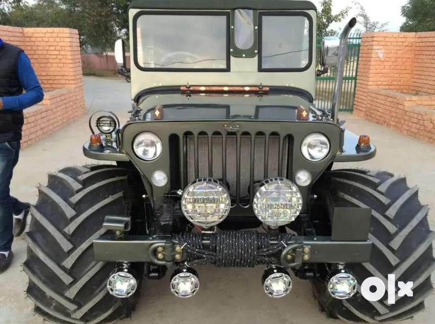 Willy jeep Modified by BOMBAY JEEPS AMBALA CITY Mahindra Jeep Modified