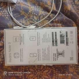 Redmi note 9 (9000) 4 gb ram 64 gb internal