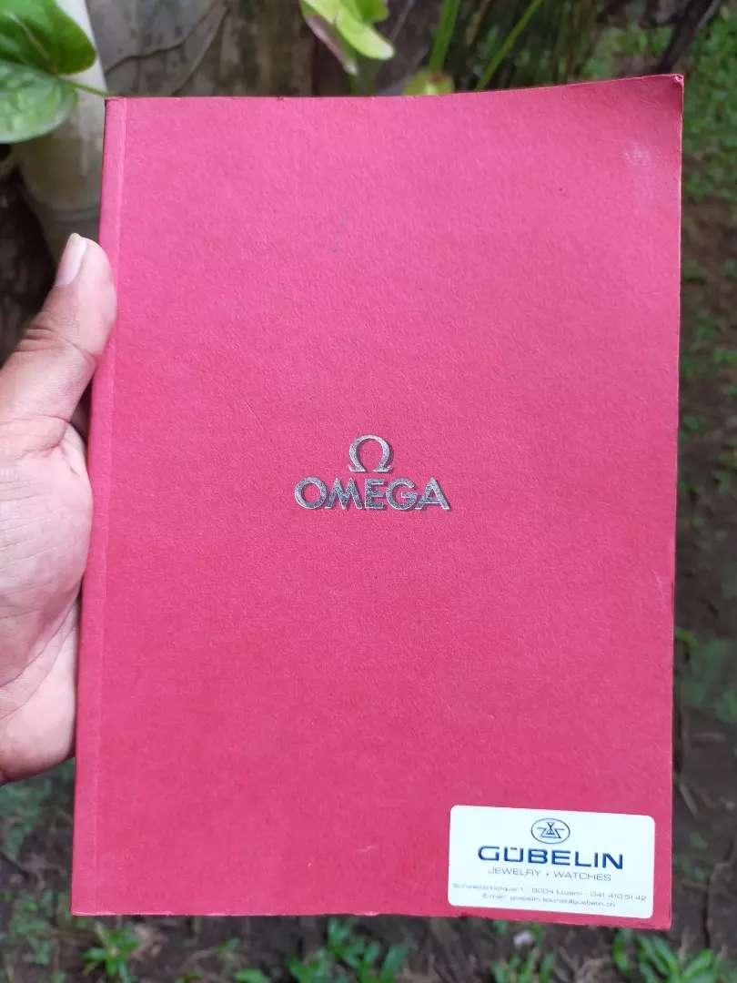 Katalog Asli Jam Tangan Omega Printed in Switzerland
