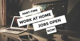 Work from home part time jobs