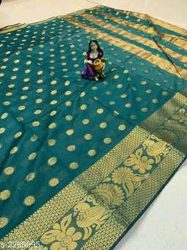 Kashvi Ethnic Cotton Silk Women's Sarees Vol 10