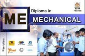 Diploma/Graduate Engineering in Mechanical, Electrical/Electronics