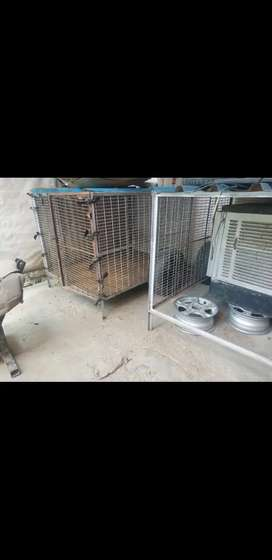 I have 2 big size (5×5) dogs cage