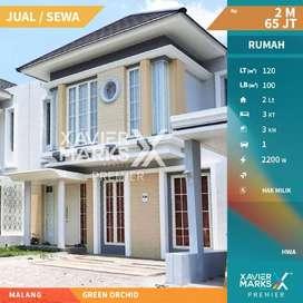 Dijual Rumah Mewah Green Orchid Soekarno Hatta Full Furnished