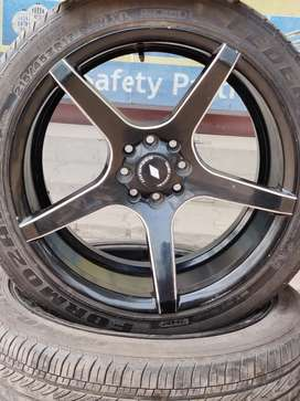 Inforged alloys and tyres