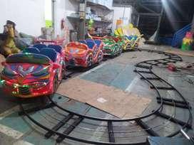 mini coaster kereta rel bawah supernova wahana mainan anak odong