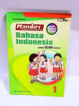 Mandiri Mengasah Kemampuan Diri Bahasa Indonesia Untuk SD/MI Kelas 1