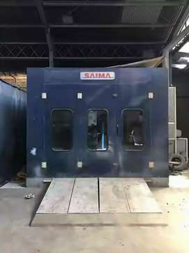 Oven spraybooth SAIMA Made in Italy