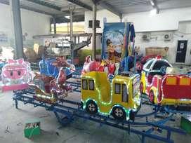 mainan anak full fiber kereta panggung mini odong robo tayo 11