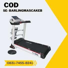 treadmill elektrik tl 123m treadmil auto incline COD Banyumas