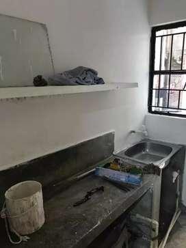 One bhk semifinished flat
