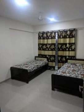 No brokrage male pg fully furnished with ac 7000 near station  Malad W