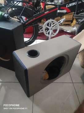 Boks audio bahan mdf tebal size 12inch dengan lubang angin
