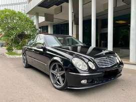 Mercy E260 W211 Thn 2004 Hitam