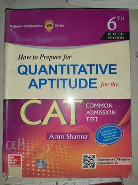 Arun Sharma Quantitative Aptitude at Rs 200