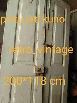"""Pintu """" kuputarung"""" jatitua vintage"""