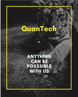 Urgent hiring sales boy/girl for QuanTech Developers