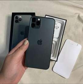 iPhone 11 Pro 512GB - Midnight Green (Nego)