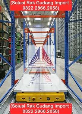 Pusat Rak Gudang Double Deep Light Duty 150kg-8000Kg Harga Pabrik