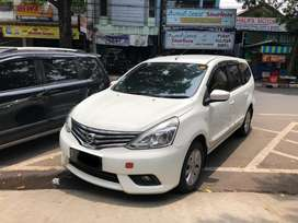 Dp22jt Grand Livina XV matic 2014 Putih || 2015