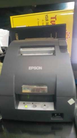Mini printer epson TMU 220 recondisi/lengkap-adaptor baru