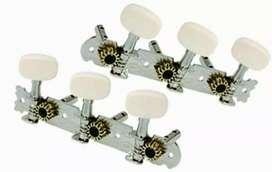 Gitar tuning key pegs machine tuner dryer akustik