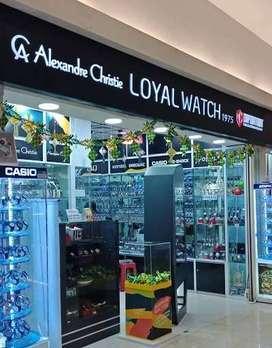 Lowker SPG Fulltime Loyal Watch di BG Junction, Bubutan, Surabaya