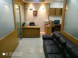 Fully furnished office available in Newtown Ambuja newta