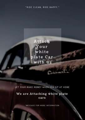 Attach your white plate car us with us.