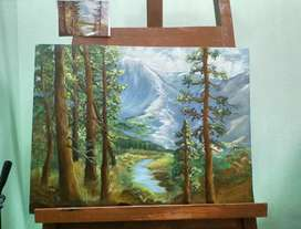 Beautiful handmade Painting