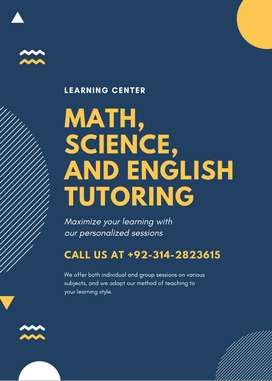Experienced Home Tutor Available