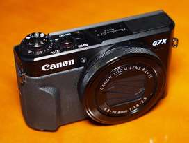 Kamera Mirrorless canon g7x markII