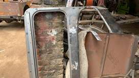 Jeep spare parts windscreen