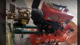 Mesin Doorsmeer Dan Kompresor 1/2HP menggunakan engine diesel 7PK