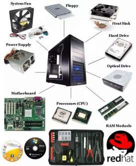 Computer Hardware servicing and CCTV works