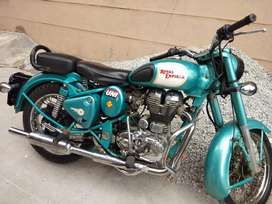 My bike in Royal Enfield classic 500cc but I am not using no insurance