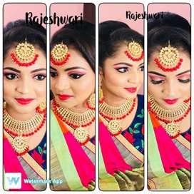 Bridal makeup only 2800