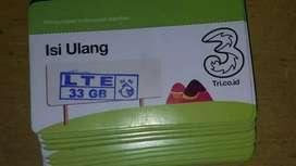 Voucher LTE Tri 33gb