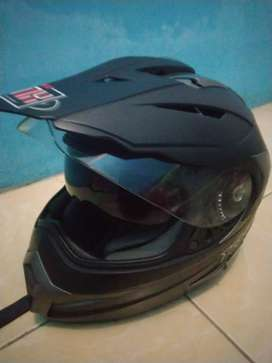 Helm KYT semi cross