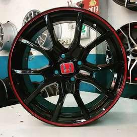 Ring 16x7 pcd 4x100 Honda brio rs jaz mobilio