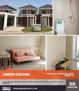 Disewakan Rumah Full Furnished di Green Orchid Sukarno Hatta Malang