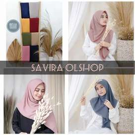 PS BELLA SQUARE price : 25.000 berat 130gram bahan double hycount halu