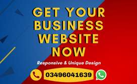 I'll design your business website