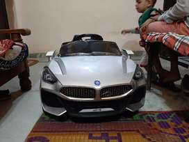 Kids car brand new silver color till 7 year age kid fix price 7k